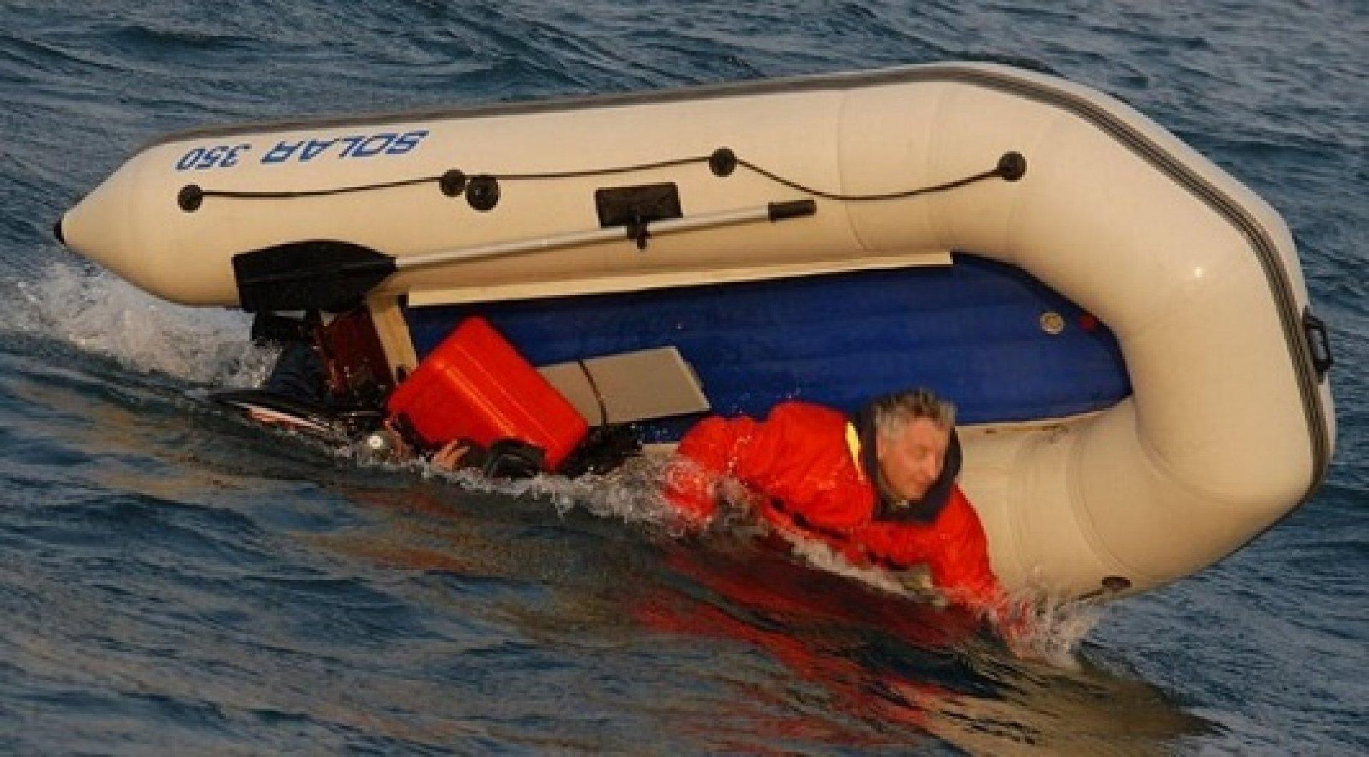 как пользоваться надувной лодкой видео