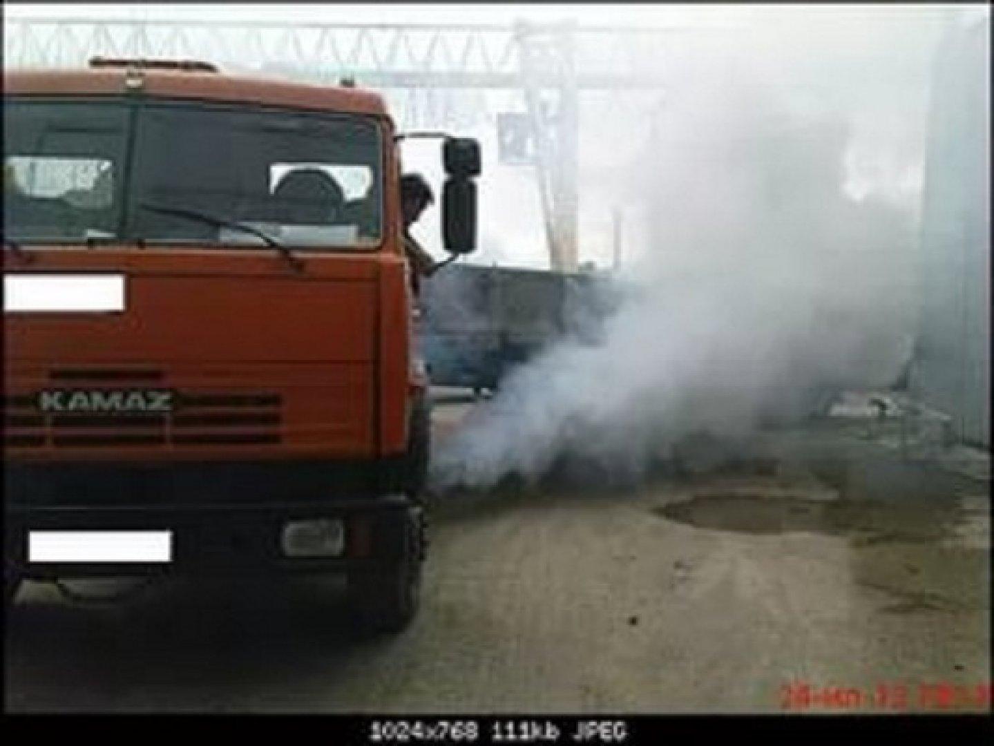 дизель дымит белым дымом видео