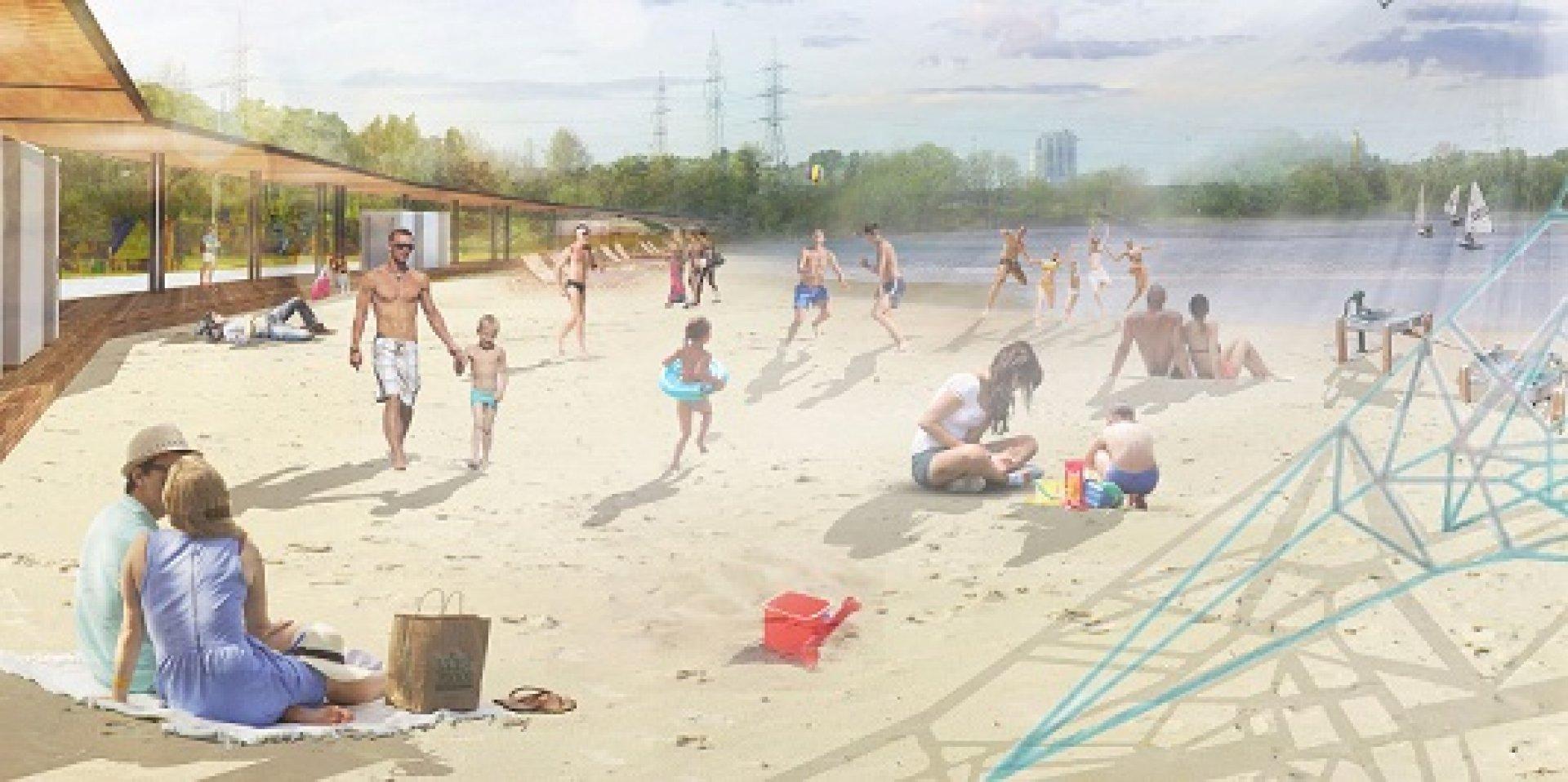 Пляж в филях фото
